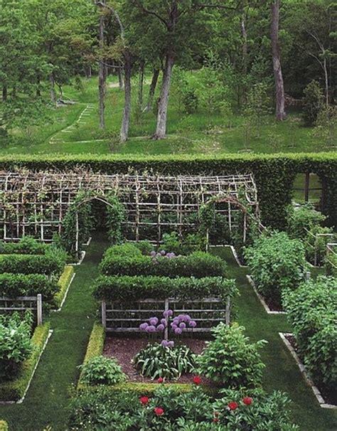 kitchen gardens on potager garden vegetable