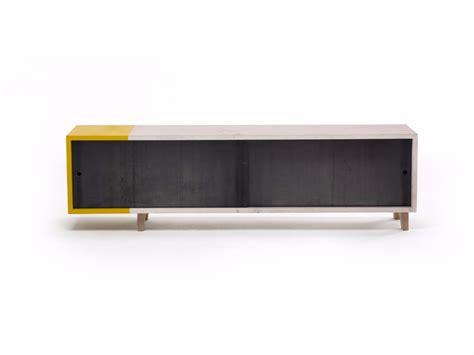 sliding door tv cabinet tv cabinet with sliding doors mercuzio by vontree