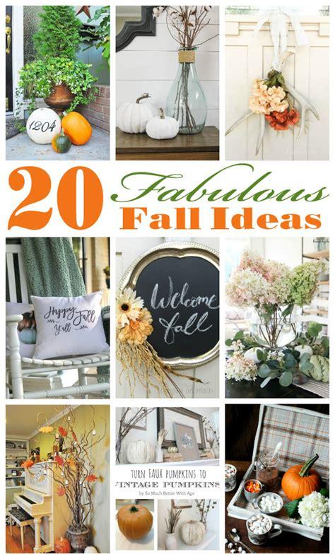 20 Fabulous Fall Ideas  House By Hoff