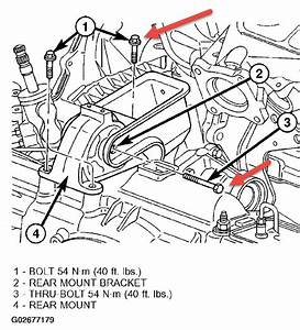 2002 Dodge Caravan Rear Engine Mount  I Am Trying To