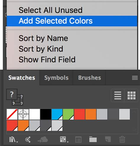 global color how to convert global color swatches to local colors in