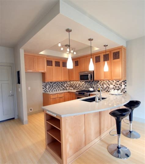Great Modern Kitchen Design For Small Space #modern