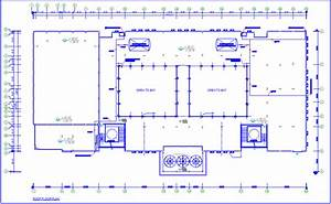 Water Pipe Line Diagram For College Roof Top Area Plan Dwg