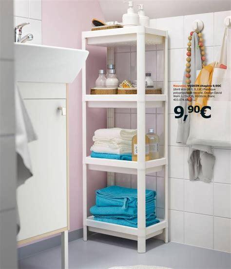 Etagere Salle De Bain Design Salle De Bains Ikea Le Nouveau Catalogue 2017 Est En
