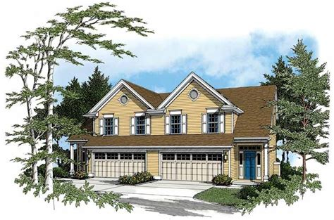 Traditional Style House Plan 3 Beds 2 5 Baths 1486 Sq/Ft