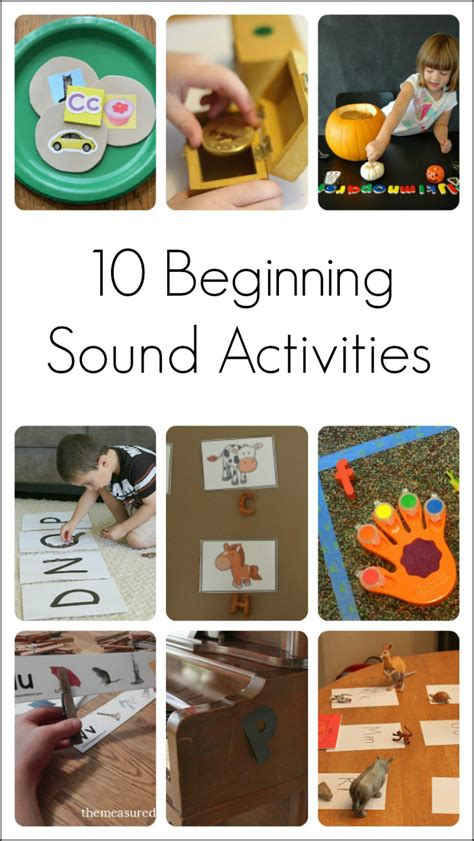 teaching letter sounds to preschoolers 10 activities to teach beginning sounds amp letters 845