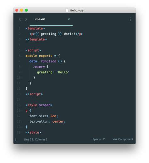 vue template compiler using vue weex