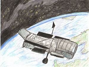 Hubble Telescope Drawing - Pics about space