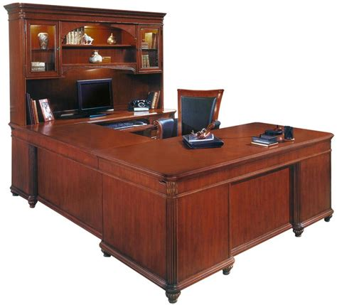 u shaped executive desk with hutch office furniture 1 800 460 0858 trusted 30 years