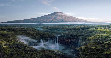 tumpak sewu waterfalls  semeru volcano