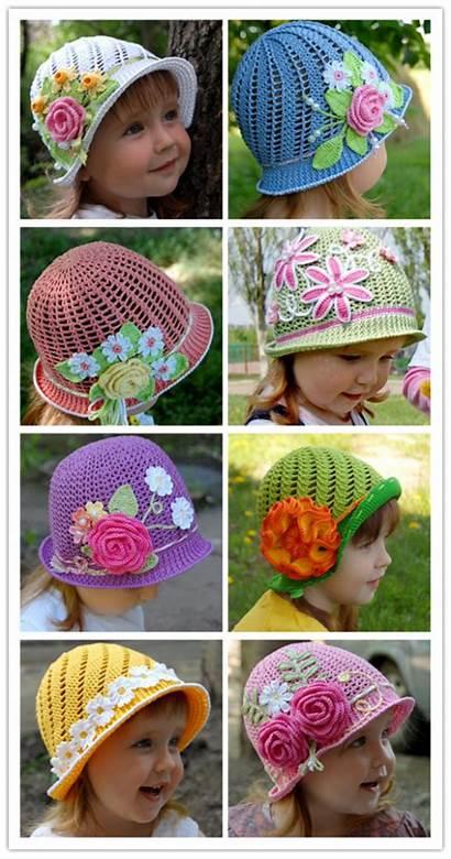 Crochet Hats Pattern Panama Summer Diy Wonderful