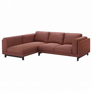 Sofa Füße Ikea : nockeby two seat sofa w chaise longue left tallmyra rust wood ikea ~ Sanjose-hotels-ca.com Haus und Dekorationen