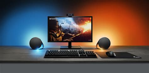Sync Lights by Logitech Unveils Lightsync Syncing Rgb Leds With G560