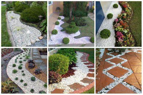 Mein Kleiner Garten Dekoration Und Kreatives by Diy Garten Dekoration Mit Wei 223 En Steinen Nettetipps De