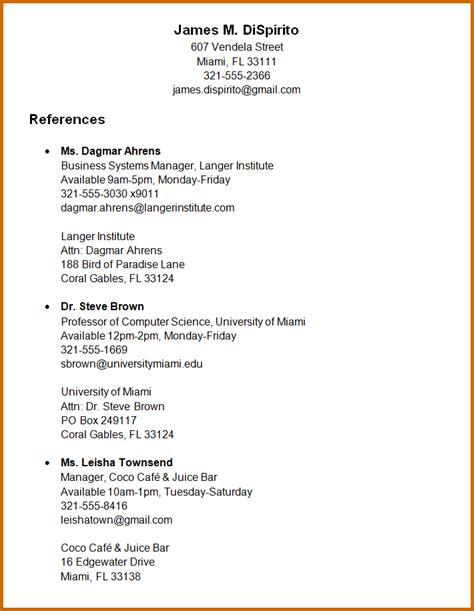 resume template with references worksheet printables site