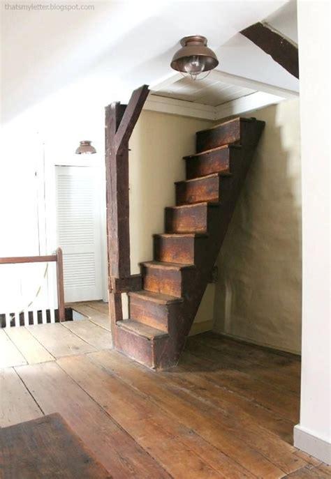 farmhouse staircase antique farmhouse attic stairs