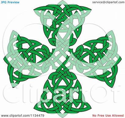 Celtic Cross Knot Clipart Illustration Royalty Vector