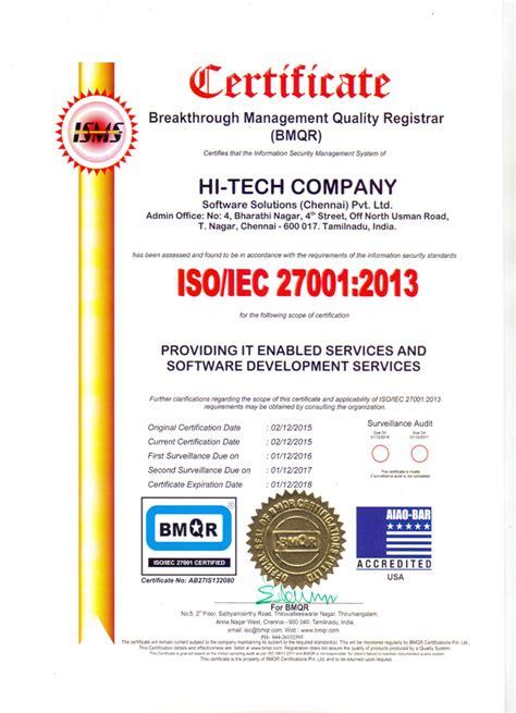 Iso 27001 Version 2013 Resumen by Htss News