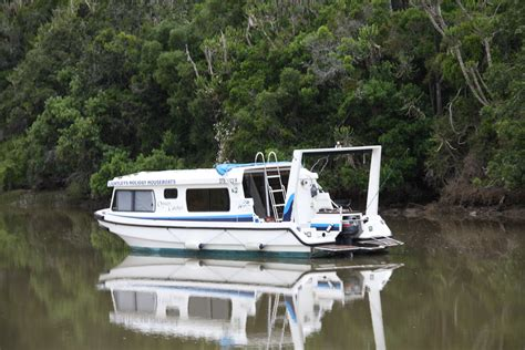 Boat Cruise In Port Alfred by Relax On The River With Houseboats Port Alfred In The