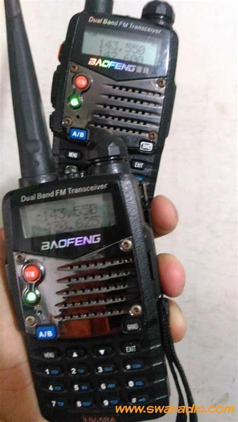 jual rotator yaesu dijual ht baofeng uv 5ra dual band lengkap charger
