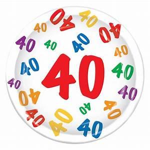 Pappteller 30 Geburtstag : pappteller 40 geburtstag zahlenexplosion 8er pack g nstig kaufen bei ~ Markanthonyermac.com Haus und Dekorationen