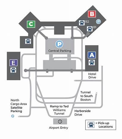 Logan Airport Boston Bus Terminal Baggage Claim