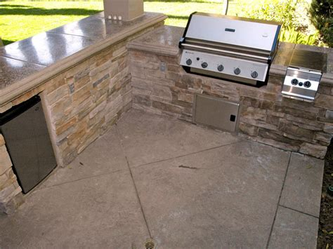 concrete kitchen floor ideas selecting outdoor kitchen flooring hgtv 5671