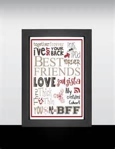 Best Friends Forever Word Art