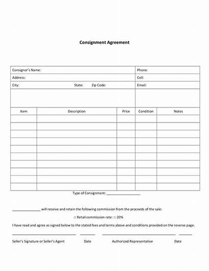 Consignment Agreement Pdf Templates Legalforms