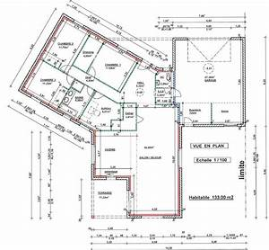 besoin d39un avis sur plan d39une maison de 130m2 28 messages With good plan de maison 120m2 1 plan de maison ossature bois plain pied 28 images