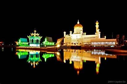 Brunei Tourist Attraction Soas Mosque Tourism Sultan