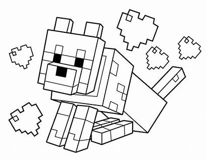 Minecraft Coloring Pages Printables