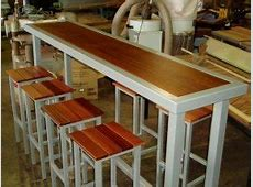 Tall Kitchen Table With Stools Foter