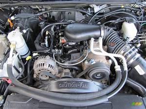 2003 Chevrolet S10 Ls Extended Cab 4x4 4 3 Liter Ohv 12v
