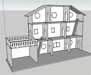 Plan Pour Maison : plan de maison de poupee en bois ~ Melissatoandfro.com Idées de Décoration