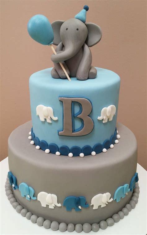 elephant cake   st birthday  lovely baker