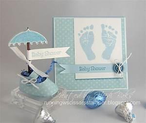 Runningwscissorsstamper stampin39 addicts retiring colors for Baby shower booties template