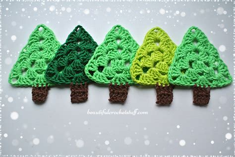crochet christmas tree free pattern beautiful crochet stuff