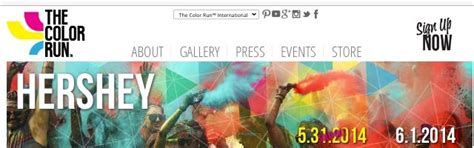 hershey color run finally getting to do a 5k color run in hershey pa gotta