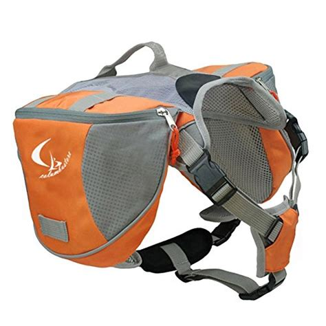 saddle bags dogs saddlebag adjustable dog bag backpack slightly packs less such money than looking quality backpacks