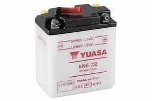Yuasa Motorcycle Battery 6n6