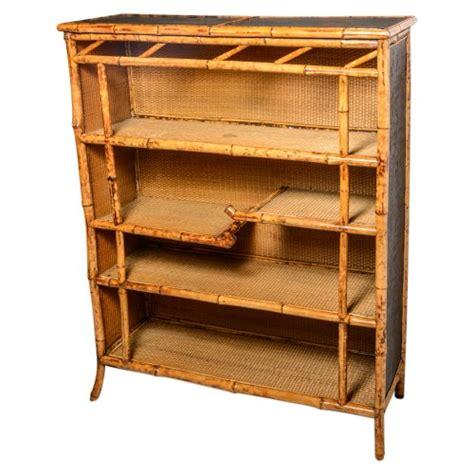 bamboo 5 shelf bookcase bamboo bookcase on antique row west palm beach florida
