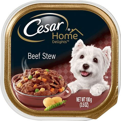 cuisine cesar cesar home delights beef stew food trays 3 5 oz