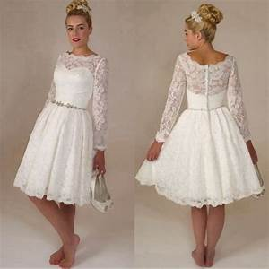 Short white lace wedding dress for Short white lace wedding dress