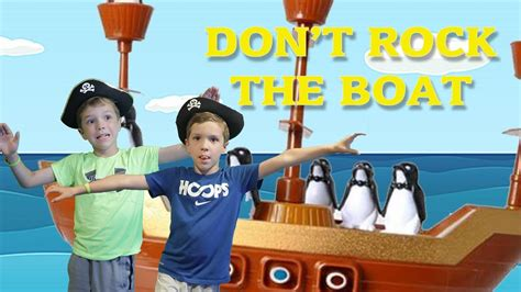Don T Rock The Boat Game Youtube by Twin Vs Twin Don T Rock The Boat Family Fun Play Game