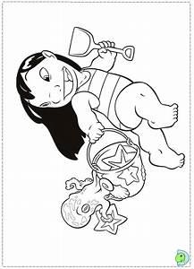 32 Besten Lilo And Stitch Coloring Pages Bilder Auf