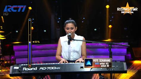 reyna qotrunnada quot route 66 quot nat king cole rising star indonesia eps 6 youtube