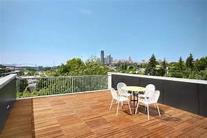 Urban Oasis Rustic Modern Rooftop Garden Deck Design Green