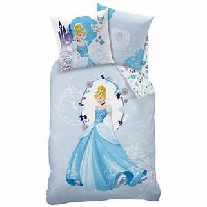 Disney princesse parure de lit housse de couette for Robe de chambre enfant avec housse de couette 140 x 220