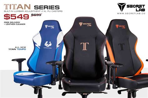 secretlab titan tempo chair review 13 high ground gaming